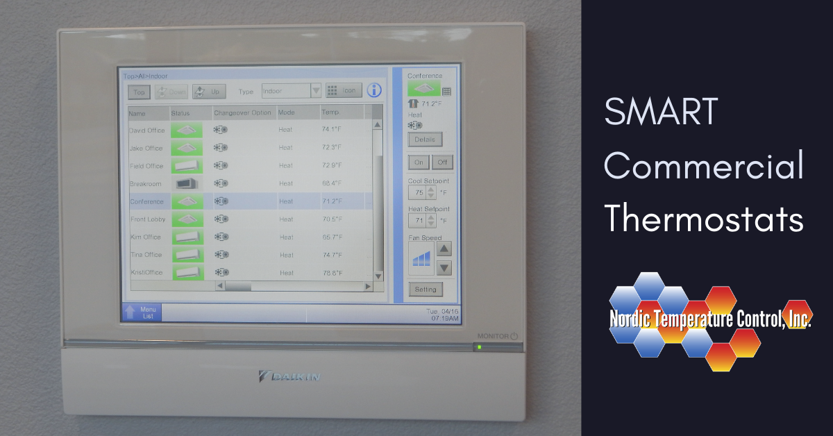Its Time to Upgrade Your Commercial Thermostat | Nordic Temperature Control