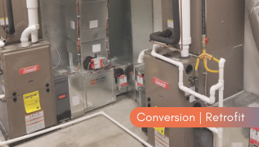 HVAC Conversion Retrofit Service | Nordic Temperature Control