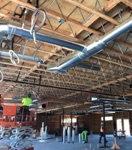 Commercial HVAC Interior Ducting | Nordic Temperature Control, Burlington WA