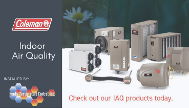 Indoor Air Quality Products and Service | Nordic Temperature Control