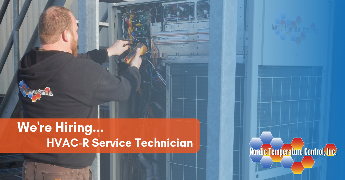 Now Hiring an HVAC-R Service Technician | Nordic Temperature Control