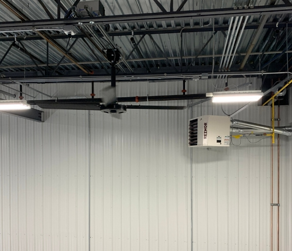 Commercial HVAC Stanwood Schenk Packing Project | Nordic Temperature Control