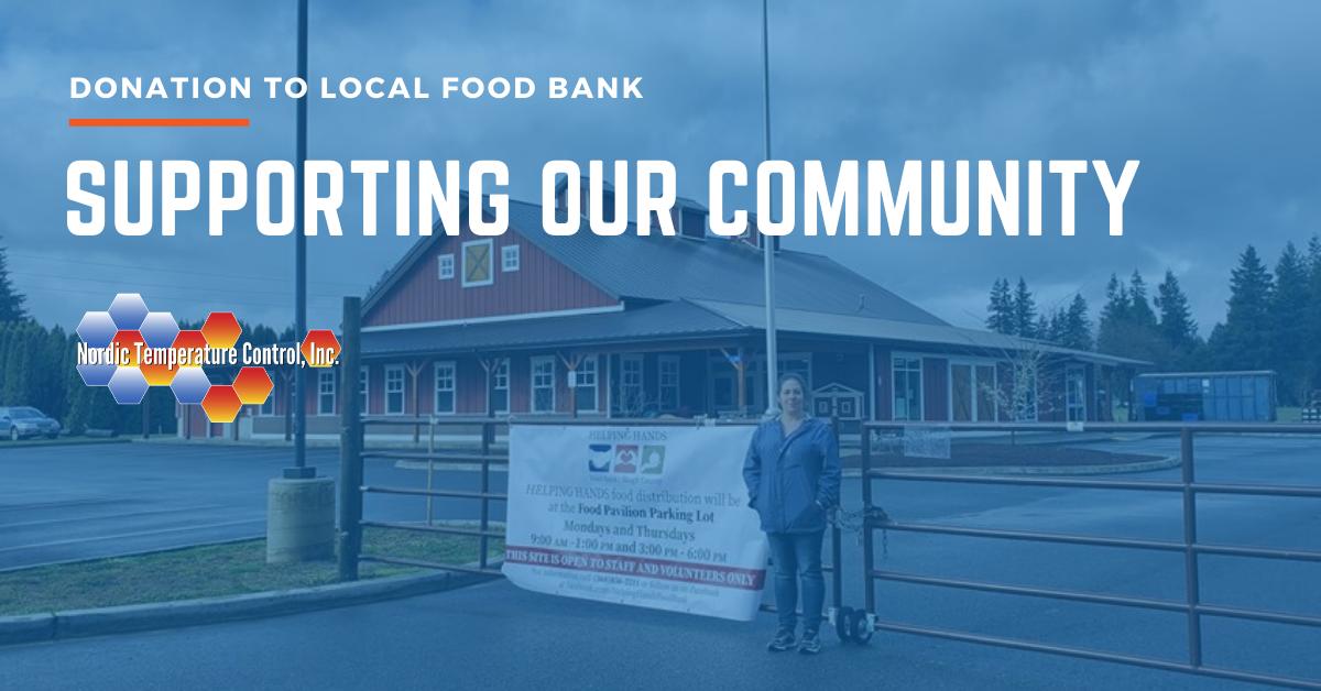 Skagit Food Bank Donation | Nordic Temperature Control